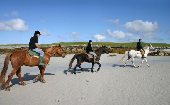 Riding holidays in scotland