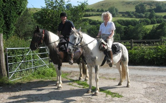 Riding holidays in Wales?