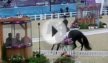 Dressage horse freaks out at the London 2012 olympics