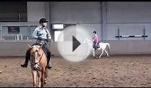 Horse jumping lessons
