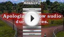 Horse Racing Manager 2 English - Harness Mode Gameplay (Day 1)